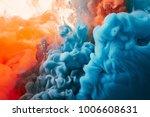 ink drop in water background   Shutterstock . vector #1006608631