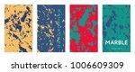 liquid color covers set. fluid...   Shutterstock .eps vector #1006609309