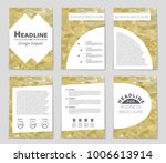 abstract vector layout...   Shutterstock .eps vector #1006613914