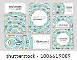abstract vector layout... | Shutterstock .eps vector #1006619089