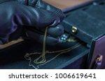 A Burglar Steals Jewelry From ...