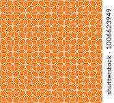 orange geometric design.... | Shutterstock .eps vector #1006623949