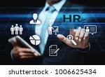 human resources hr management... | Shutterstock . vector #1006625434