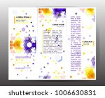business brochure. vector | Shutterstock .eps vector #1006630831