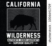 california wilderness ... | Shutterstock .eps vector #1006641709
