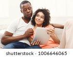 online order. happy black... | Shutterstock . vector #1006646065