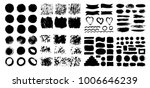 mega collection of hand drawn... | Shutterstock .eps vector #1006646239