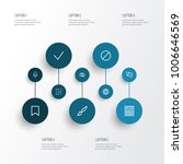 user icons line style set with... | Shutterstock .eps vector #1006646569