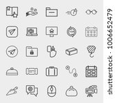 business outline vector icon... | Shutterstock .eps vector #1006652479