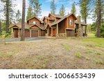 beautiful custom made home... | Shutterstock . vector #1006653439