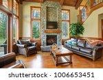 stunning living room design... | Shutterstock . vector #1006653451