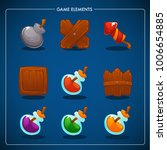 match 3 mobile game  games... | Shutterstock .eps vector #1006654885