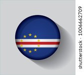 button flag of cape verde in a... | Shutterstock .eps vector #1006662709