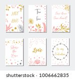 decorative greeting cards for... | Shutterstock .eps vector #1006662835