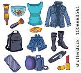 fashion vector illustration.... | Shutterstock .eps vector #1006663561