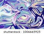 bright digital marbling.... | Shutterstock .eps vector #1006665925