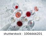 wine tasting concept   glass... | Shutterstock . vector #1006666201