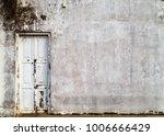 old wooden house doors white... | Shutterstock . vector #1006666429