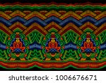 traditional embroidery clothes... | Shutterstock .eps vector #1006676671