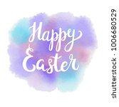 vector hand drawn happy easter... | Shutterstock .eps vector #1006680529