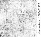 grunge texture black and white. ... | Shutterstock . vector #1006681957