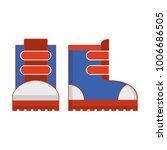 stock for extreme winter sport. ... | Shutterstock .eps vector #1006686505