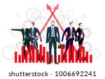 businessteam of young people.... | Shutterstock .eps vector #1006692241