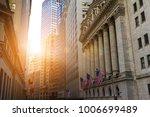 sunlight shines on the historic ... | Shutterstock . vector #1006699489