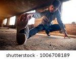 close up portrait of active... | Shutterstock . vector #1006708189