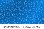 background of water drops of... | Shutterstock .eps vector #1006708759