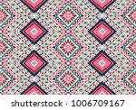 indian embroidery. geometric... | Shutterstock .eps vector #1006709167