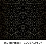 seamless linear pattern with... | Shutterstock .eps vector #1006719607