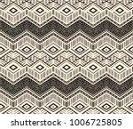 ikat geometric folklore... | Shutterstock .eps vector #1006725805