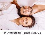 beautiful couple relaxing in... | Shutterstock . vector #1006728721