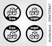 sugar free vectorized icon ...   Shutterstock .eps vector #1006729867