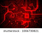 high tech electronic circuit...   Shutterstock .eps vector #1006730821