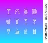 vector illustration of 12... | Shutterstock .eps vector #1006733329