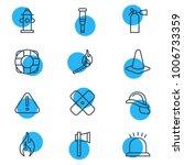 vector illustration of 12 extra ...   Shutterstock .eps vector #1006733359