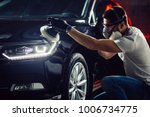 car detailing   hands with... | Shutterstock . vector #1006734775
