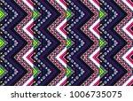 geometric folklore ornament....   Shutterstock .eps vector #1006735075