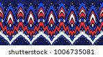 geometric folklore ornament....   Shutterstock .eps vector #1006735081