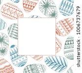 white decorative festive frame  ...   Shutterstock .eps vector #1006737679
