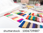closed up of color samples...   Shutterstock . vector #1006739887