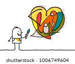 Cartoon Artist Painting A...