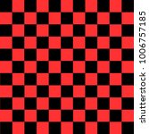 black and red checkered... | Shutterstock .eps vector #1006757185
