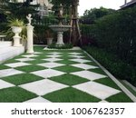 walkway around home by... | Shutterstock . vector #1006762357