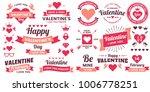 valentine template banner... | Shutterstock .eps vector #1006778251