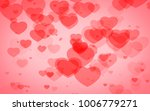 red and pink heart. valentine's ... | Shutterstock . vector #1006779271