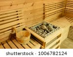 sauna room with traditional... | Shutterstock . vector #1006782124