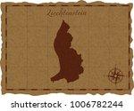 ancient map with liechtenstein...   Shutterstock .eps vector #1006782244